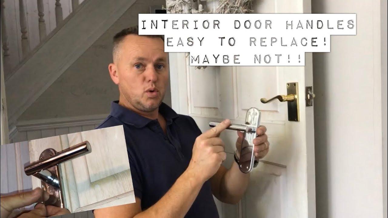 Replacing Interior Door Handles Easy Job Or Not Youtube