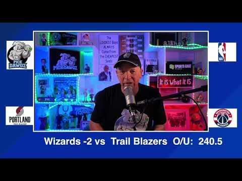Washington Wizards vs Portland Trail Blazers 2/2/21 Free NBA Pick and Prediction NBA Betting Tips