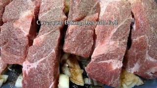 Country Ribs - An easy way to prepare it.