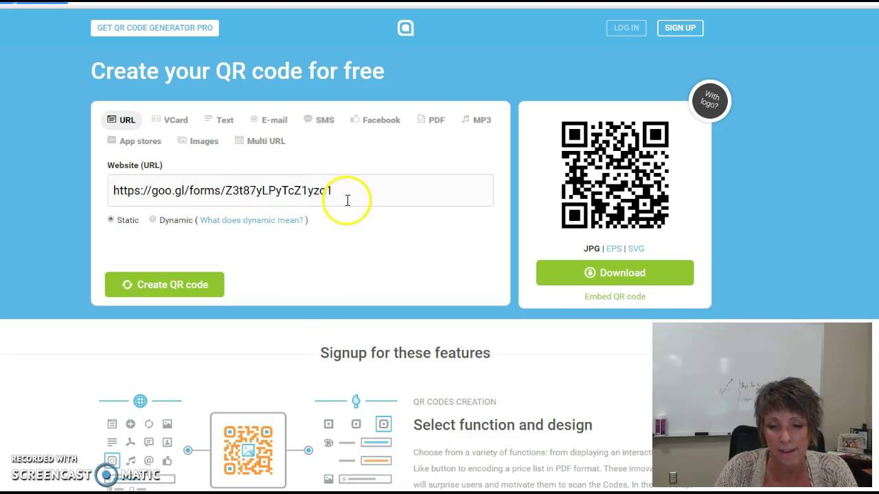 how to take attendance with a qr code youtube