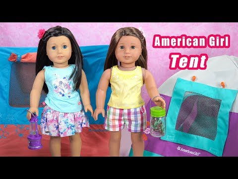 American Girl Truly Me Sunset Sleepover Tent ~ Retired