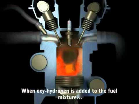 Dual-Fuel Oxy-Hydrogen Car - operation concept