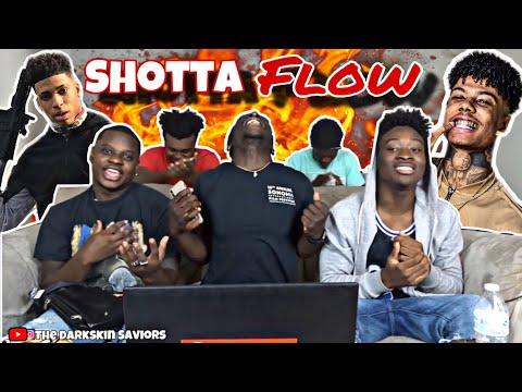 NLE Choppa – Shotta Flow Remix ft. Blueface (Reaction)