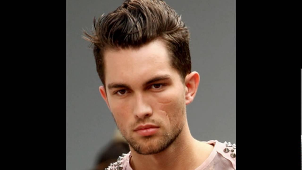brushed up short men's hairstyles - youtube