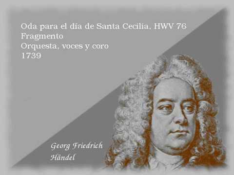 Oda para el día de Santa Cecilia - Händel