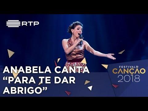 Canção nº 4 - Anabela - Pra Te Dar Abrigo - 1ª Semifinal | Festival da Canção
