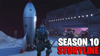 FORTNITE SEASON 10 STORYLINE LEAKED..! (NEW MAP, Zero Point, Space...)