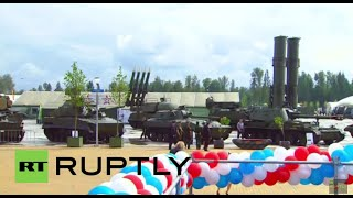 Russia: ARMY-2015 expo kicks-off on the outskirts of Moscow