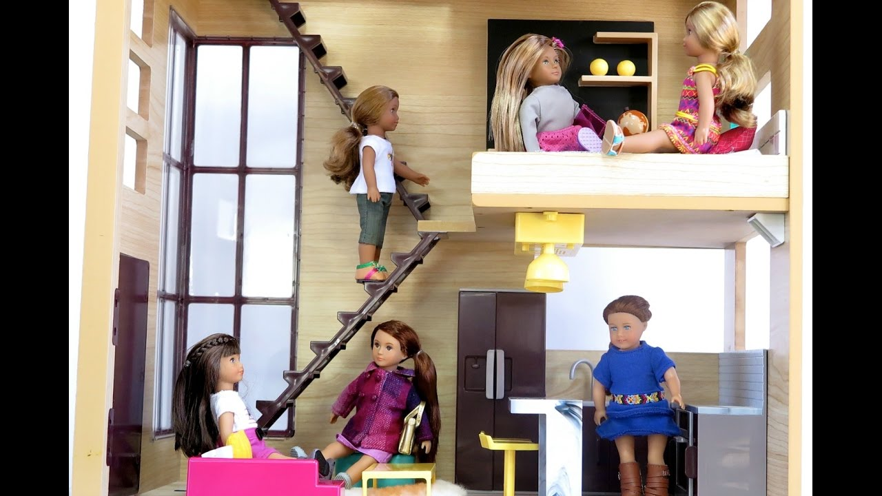 Our Generation Sent Me A Dollhouse And Lori Dolls Youtube