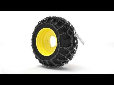 TRYGG Netlink tire chains installation