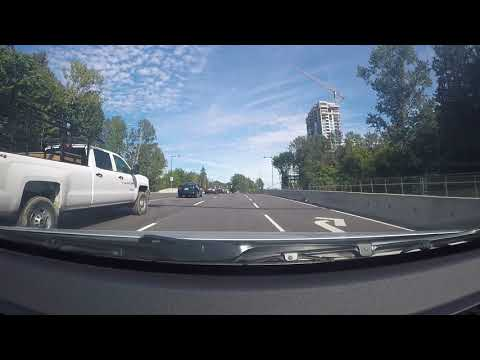 Driving in Canada - Lynn Valley to Capilano University