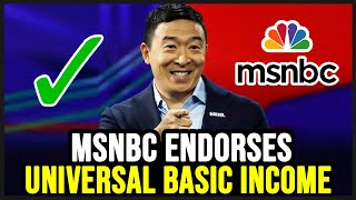 MSNBC Completely Endorses Universal Basic Income