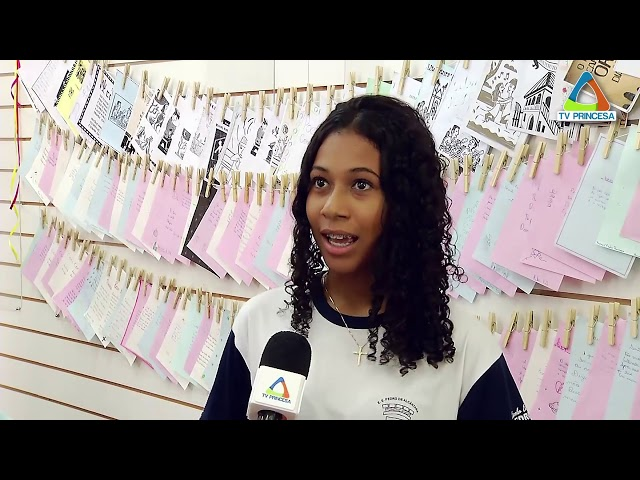 Mostra Cordéis - Biblioteca Pública de Varginha - TV Princesa