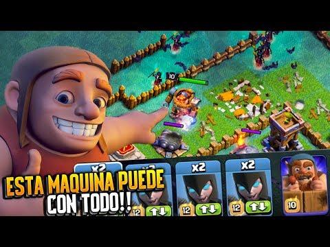 ESTA MAQUINA PUEDE CON TODO!!   Clash of Clans   Rubinho vlc
