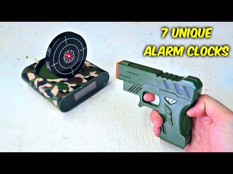 Download Youtube: 7 Weird Alarm Clocks put to the Test