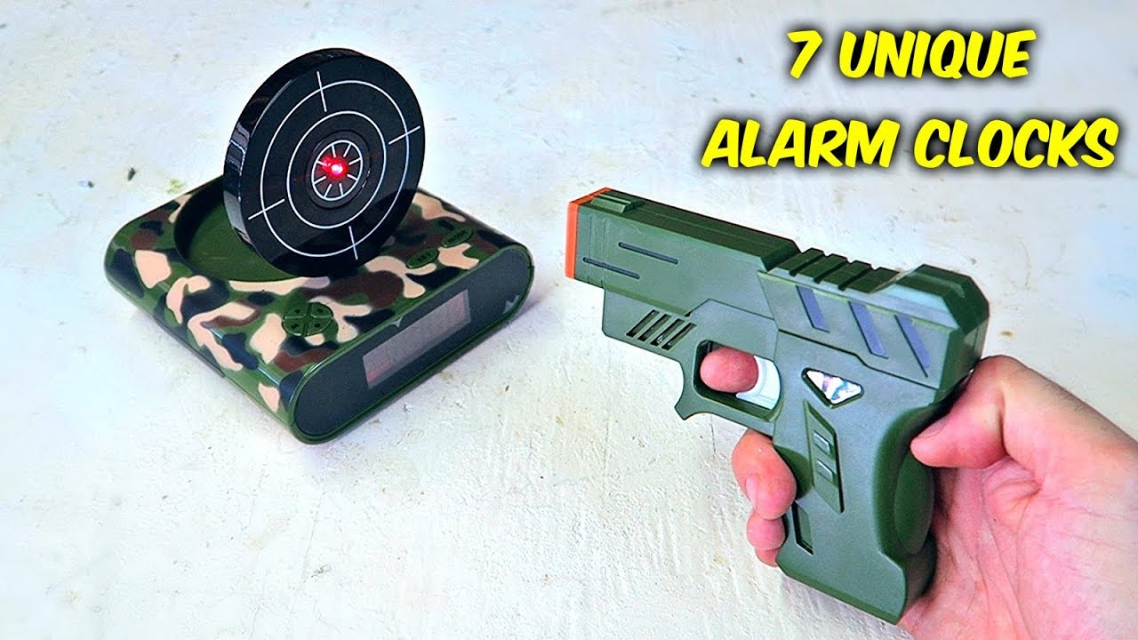 7 Weird Alarm Clocks Put To The Test Youtube