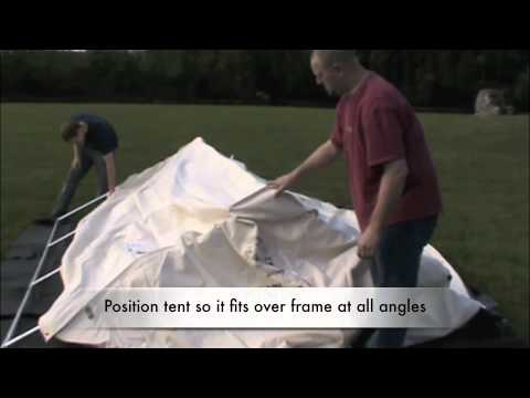 A Canvas Wall Tent - Camping Without Hauling a Trailer
