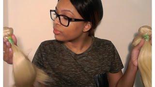 ALIEXPRESS Moda blonde Brazilian hair review Thumbnail