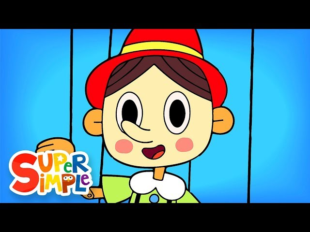 The Pinocchio   Nursery Rhymes   Super Simple Songs