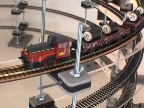 PROSES MODULAR HELIX SYSTEMS FOR HO, OO, N SCALE MODEL RAILROADS
