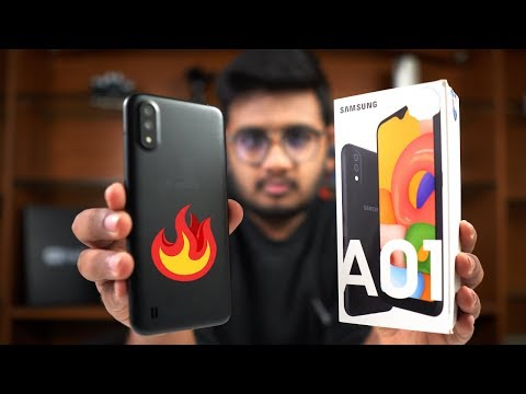 Samsung A01 Unboxing | Price in Pakistan= Rs 16,500/-