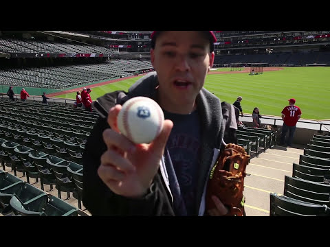 Zack Hample at Progressive Field (Part 1)