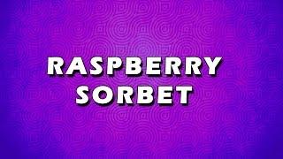 Raspberry Sorbet | Easy To Learn | Easy Recipes