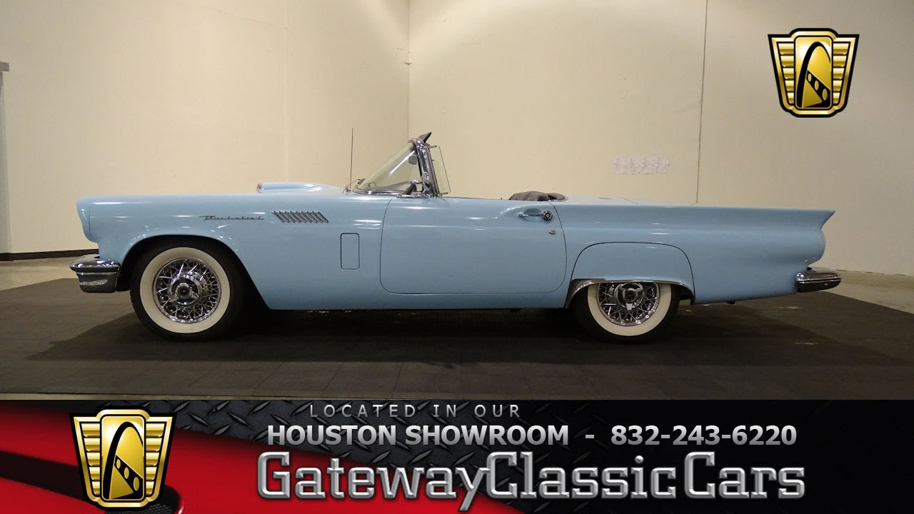 Hou Ford Thunderbird Gateway Classic Cars Houston Youtube