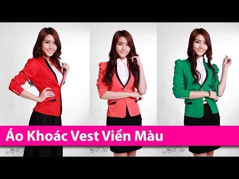 Áo Khoác Vest Viền Màu - Áo Khoác HCM Chuyên áo Khoác Thời Trang AoKhoacHCM.com