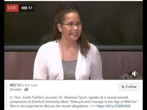 Dr. Vanessa Tyson Speaks on Sexual Violence (2/12/19)