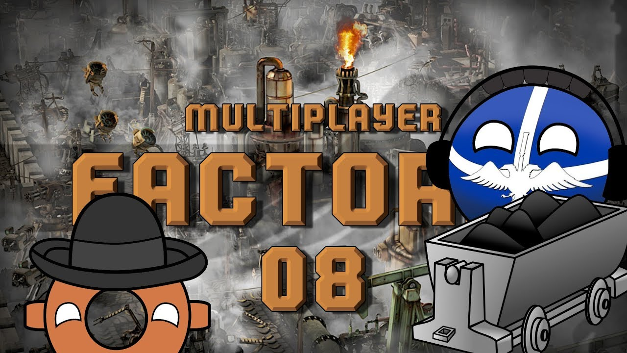 FACTORIO MULTIPLAYER #08 COAL POWERED MAGINOT LINE - Let's Play Gameplay
