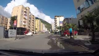 Albania - Drive through the center of Lezhë | Daewoo Tico | GoPro
