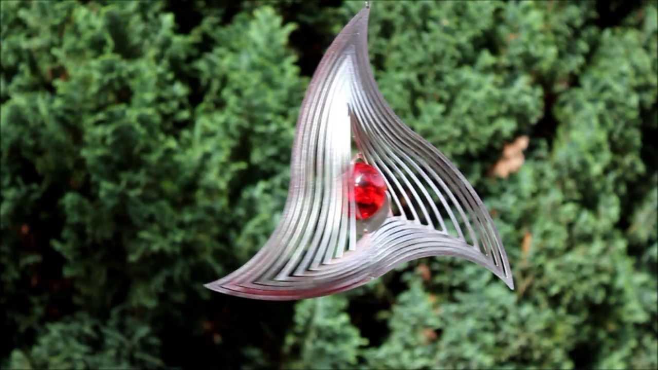 Gartendeko Windspiel-Triangle-Mobile- - YouTube