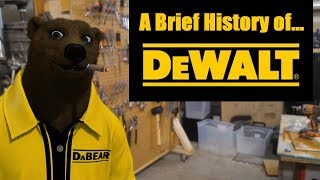 A Brief History of DeWALT Tools (Radial Arm Saws to FlexVolt)
