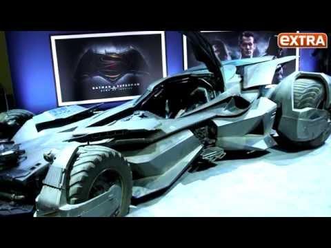 Warner Bros. Unveils Batmobile from