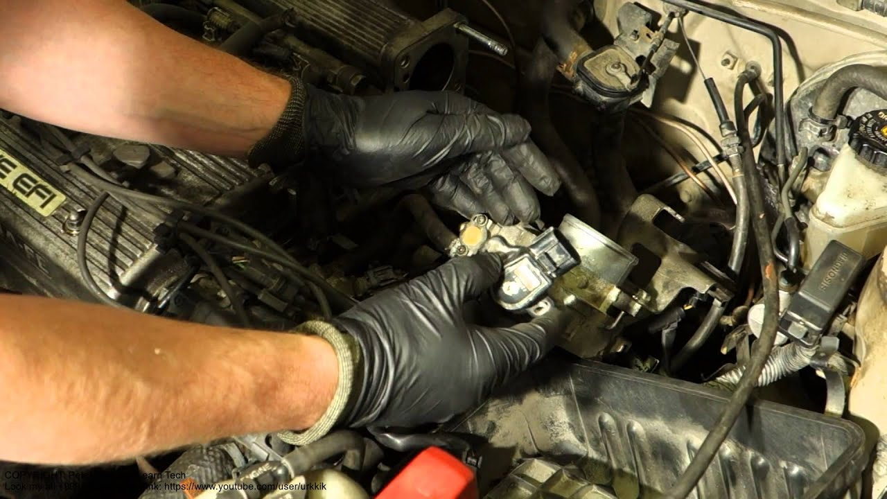 How to replace throttle body sensor Toyota cars Years