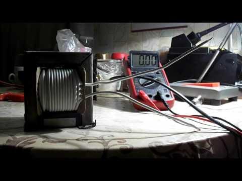 видео: Наматываем вторичную обмотку трансформатора для зарядного устройства