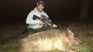 HOG HUNTING with THERMAL Night Vision in Texas!!!