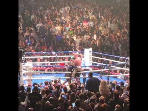 Deontay Wilder's Crazy Knockdown Against Tyson Fury