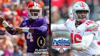 fiesta bowl preview clemson vs ohio state in the cfp semifinal