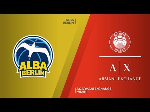 ALBA Berlin - AX Armani Exchange Milan Highlights | Turkish Airlines EuroLeague, RS Round 5
