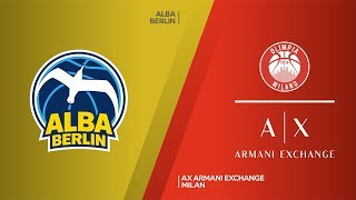 ALBA Berlin - AX Armani Exchange Milan Highlights | Turkish Airlines EuroLeague, RS Round 5
