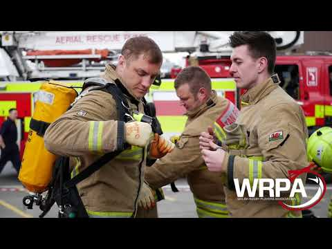 WRPA members experience a day as a Firefighter.