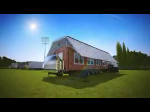 Foldable houses - YouTube