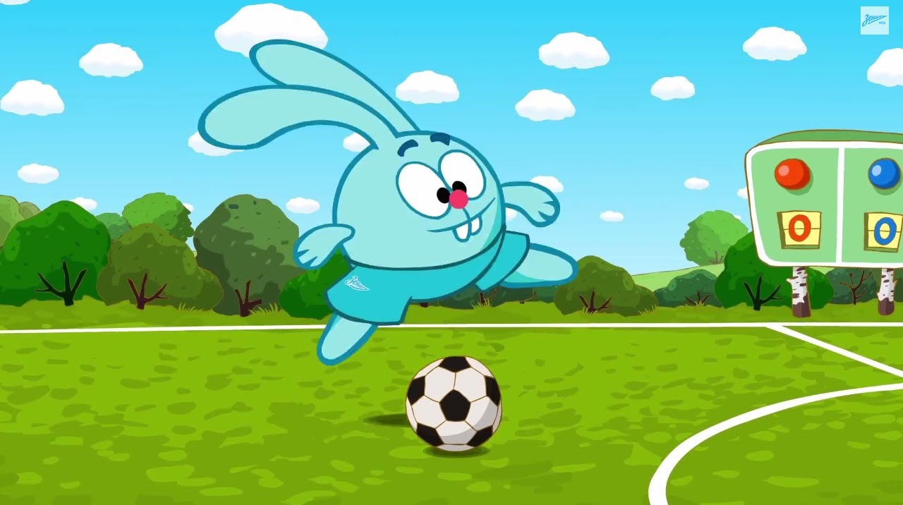 «Смешарики» и «Зенит»: специальная футбольная серия - YouTube