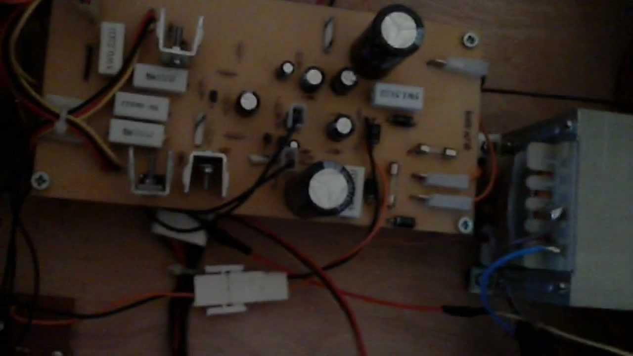 100 Watt Anfi Home Made Amplifier Youtube