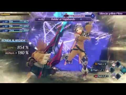 Vs a Bunch of Ardainian Soldiers & Vagrant Baldr - Xenoblade