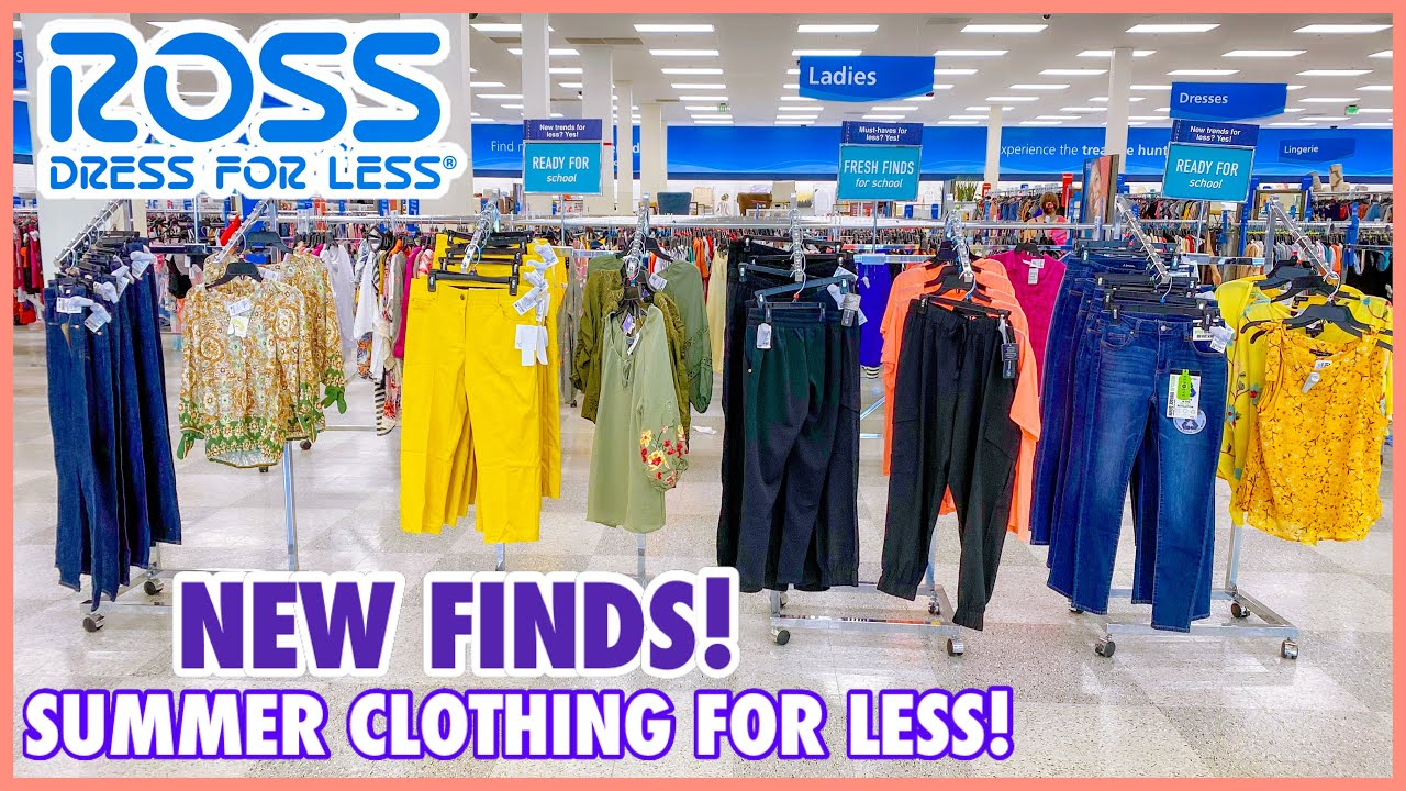 🔥ROSS DRESS FOR LESS NEW FINDS‼️SUMMER STYLE FASHION TOPS & BOTTOMS FOR LESS‼️❤︎SHOP WITH ME❤︎