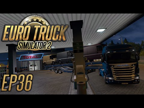 Euro Truck Simulator 2: Narrow Fuel Station - Episode 36