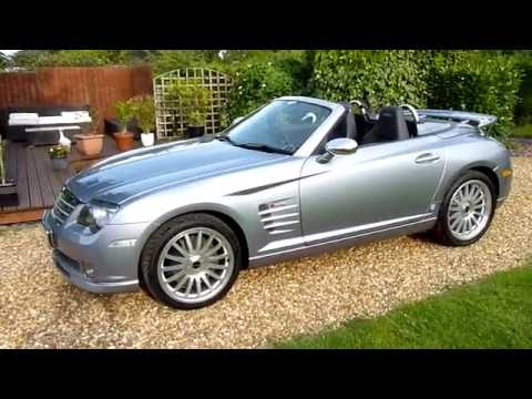Video Review Of 2005 Chrysler Crossfire Srt 6 Convertible The Best